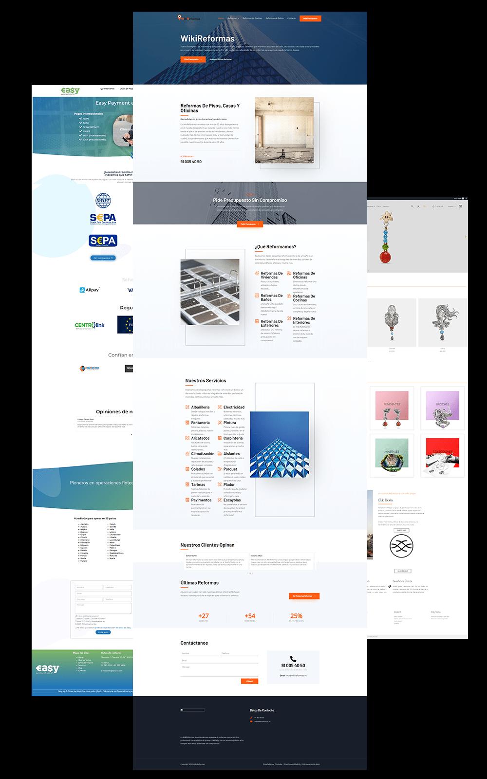 diseño web en pozuelo de alarcon